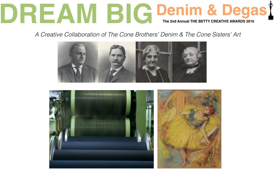 About Dream Big: Denim + Degas. Keynote.001
